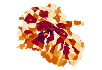 Analysis of the maximum capacity of residential areas