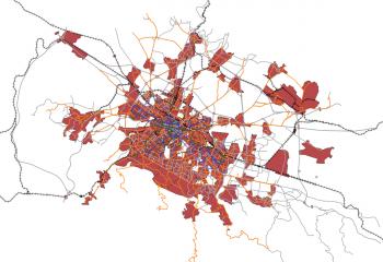 Transport model of Sofia