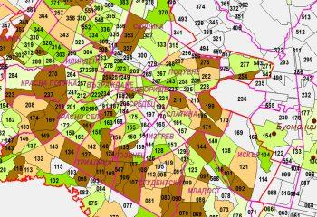Териториално диференцирани демографски прогнози