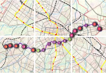 Буферни паркинги по трасето на третия метродиаметър