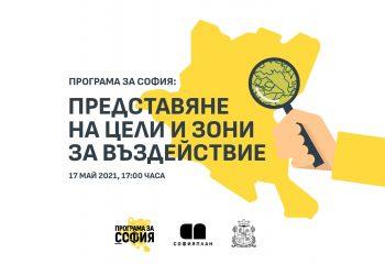 Покана за представяне на цели и зони за въздействие в Програма за София